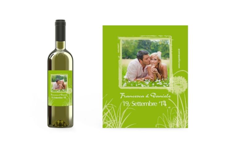 Etichette vino matrimonio collezione Murcia Etikett Weinflasche 4er Set