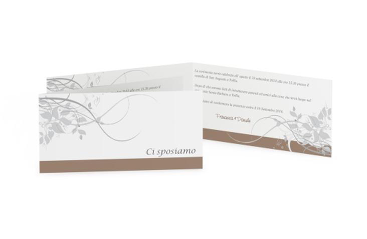 Inviti matrimonio collezione Firenze DIN lang Klappkarte