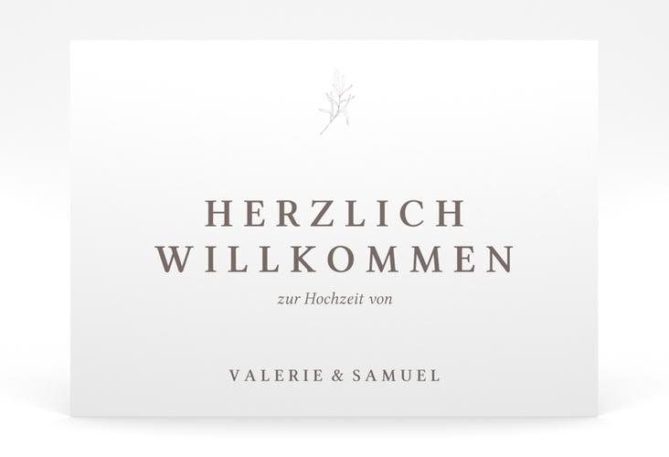 """Willkommensschild Poster """"Ivy"""" 70 x 50 cm Poster"""
