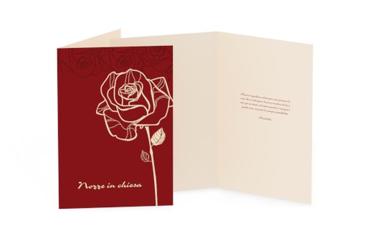 Libro messa matrimonio collezione Rimini DIN A5 geklappt