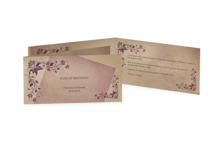 Inviti matrimonio collezione Como DIN lang Klappkarte