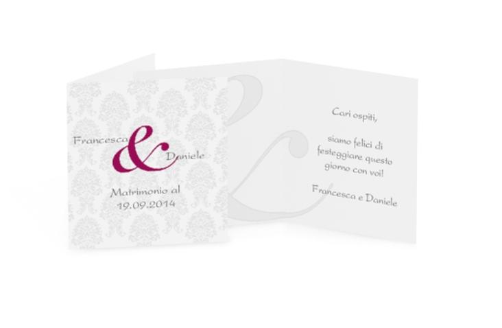 Biglietti Bomboniera matrimonio collezione Nantes Geschenkanhänger 10er Set