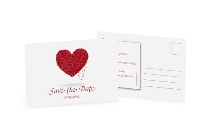 Biglietti Save the Date collezione Colonia A6 Postkarte