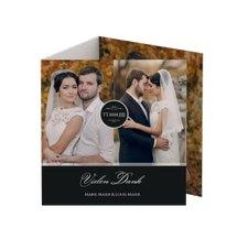 """Danksagungskarte Hochzeit """"Elegancy"""""""