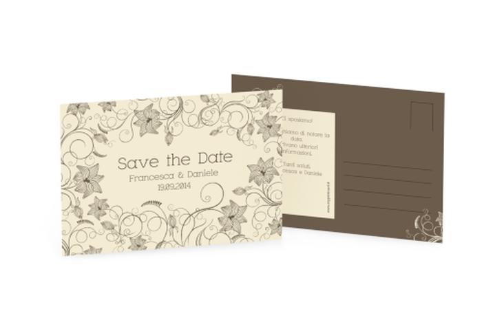 Biglietti Save the Date collezione Savona A6 Postkarte