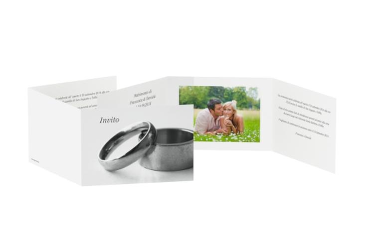 Inviti matrimonio collezione Siviglia A6 doppelt geklappt