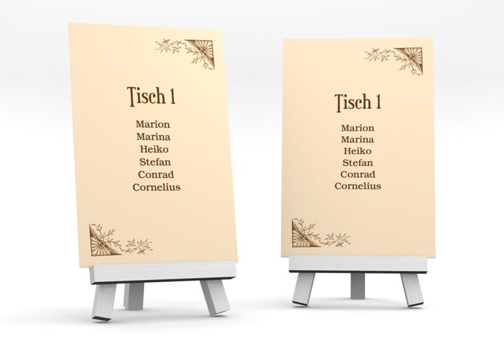 """Tischaufsteller Hochzeit """"Storybook"""" Tischaufsteller"""
