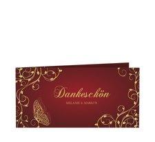 """Danksagungskarte Hochzeit """"Eternity"""""""