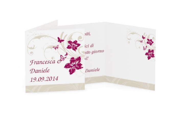 Biglietti Bomboniera matrimonio collezione Parma Geschenkanhänger 10er Set
