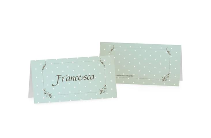 Segnaposti matrimonio collezione Ferrara Tischkarten