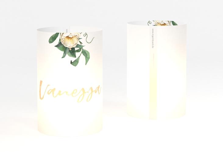 """Windlicht Hochzeit """"Ivory"""" Windlicht weiss"""