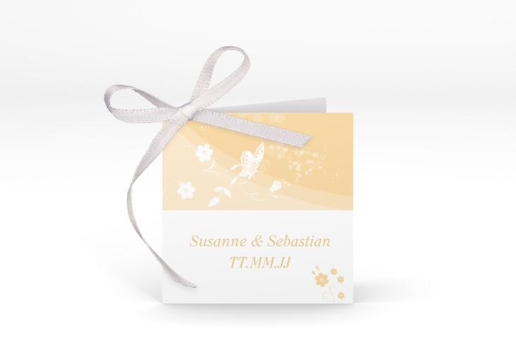 """Geschenkanhänger Hochzeit """"Verona"""" Geschenkanhänger 10er Set beige"""
