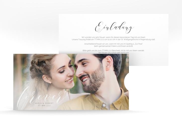 """Hochzeitseinladung """"Promise"""" Einsteckkarte"""