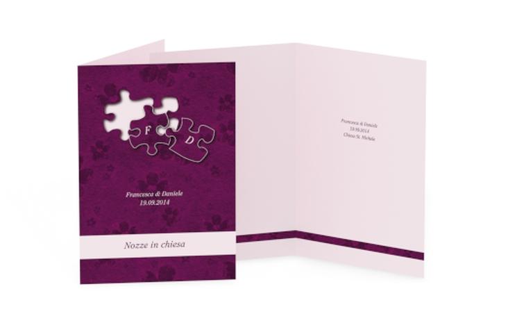 Libro messa matrimonio collezione Bergamo DIN A5 geklappt