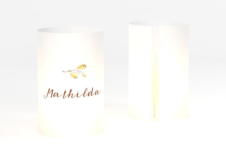 """Windlicht Hochzeit """"Herbsthochzeit"""" Windlicht"""
