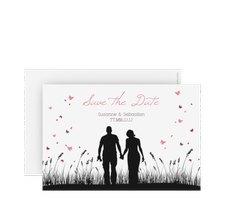 """Save the Date-Karte Hochzeit """"Rouen"""""""