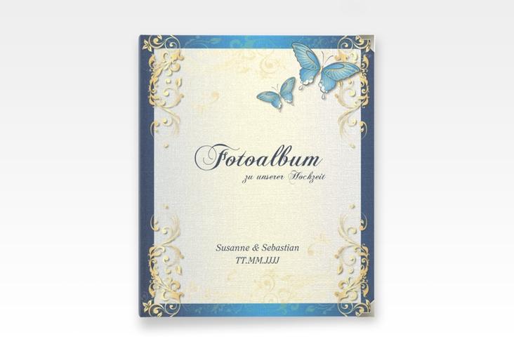 "Hochzeitsalbum ""Toulouse"" 21 x 25 cm blau"