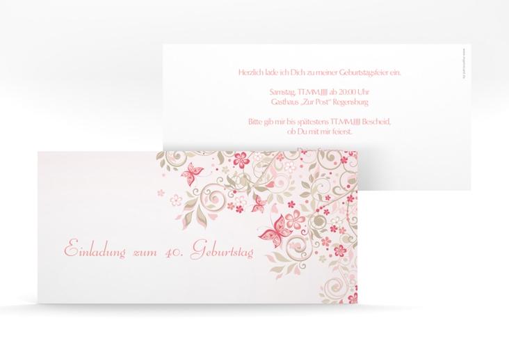 """Einladungskarte """"Marianne"""" DIN lang"""