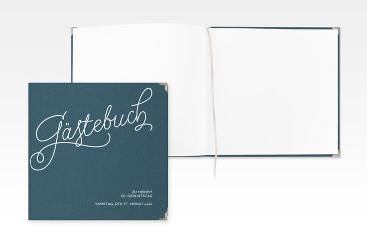 "Gästebuch Selection Geburtstag ""Schwungvoll"" Hardcover"