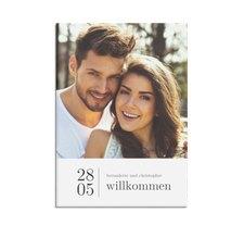 """Willkommensschild Hochzeit """"Minimal"""""""