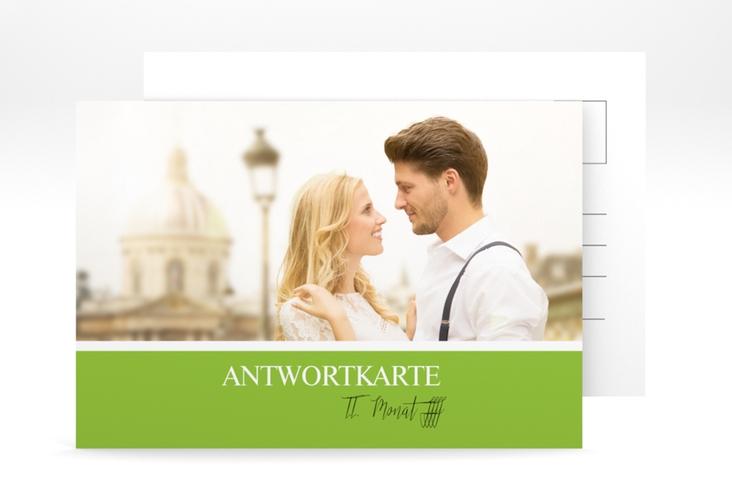 "Antwortkarte Hochzeit ""Balance"" A6 Postkarte"