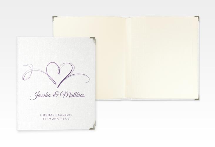 "Hochzeitsalbum ""Envie"" 21 x 25 cm lila"