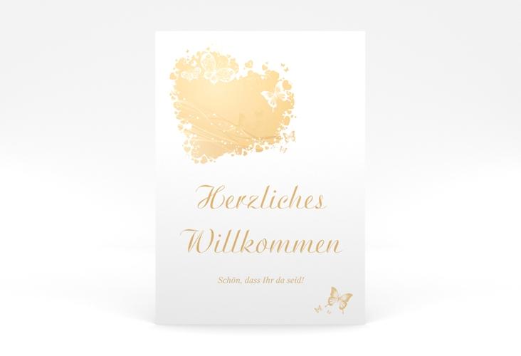 """Willkommensschild Poster """"Mailand"""" 50 x 70 cm Poster beige"""