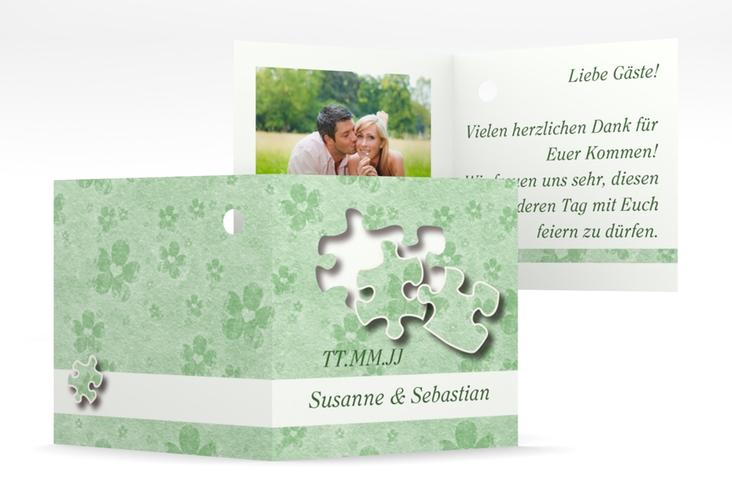 """Geschenkanhänger Hochzeit """"Ravensburg"""" Geschenkanhänger 10er Set gruen"""