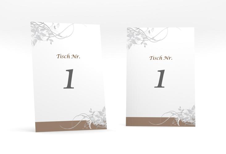 """Tischnummer Hochzeit """"Florenz"""" Tischaufsteller"""