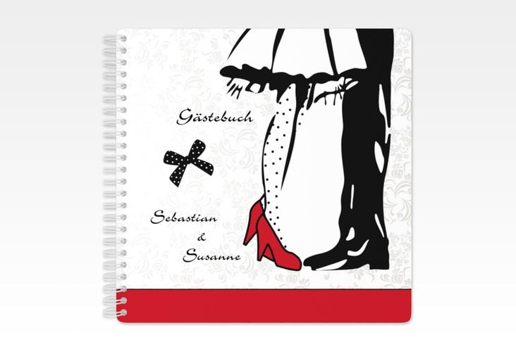 """Gästebuch Hochzeit """"Straßburg"""" Ringbindung"""