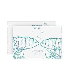 """Save the Date-Karte """"Ocean"""""""