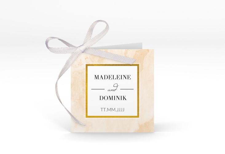 """Geschenkanhänger Hochzeit """"Marble"""" Geschenkanhänger 10er Set beige"""