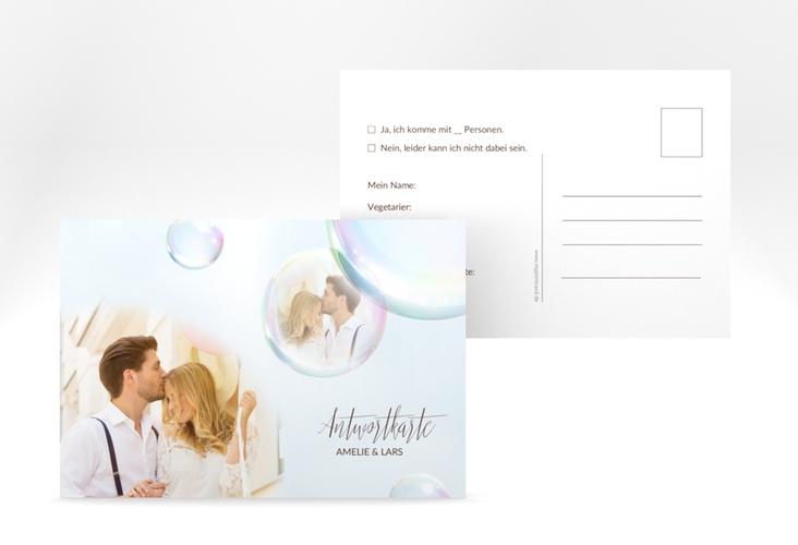 "Antwortkarte Hochzeit ""Dreams"" A6 Postkarte"