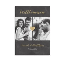 """Willkommensschild Hochzeit """"Sparkly"""""""