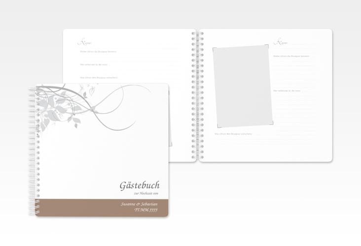 "Gästebuch Hochzeit ""Florenz"" Ringbindung"