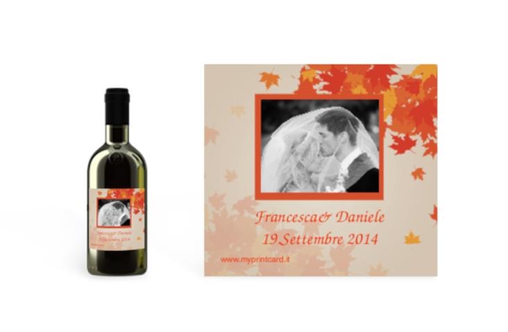 Etichette piccolo matrimonio collezione Prato Etikett Piccolo