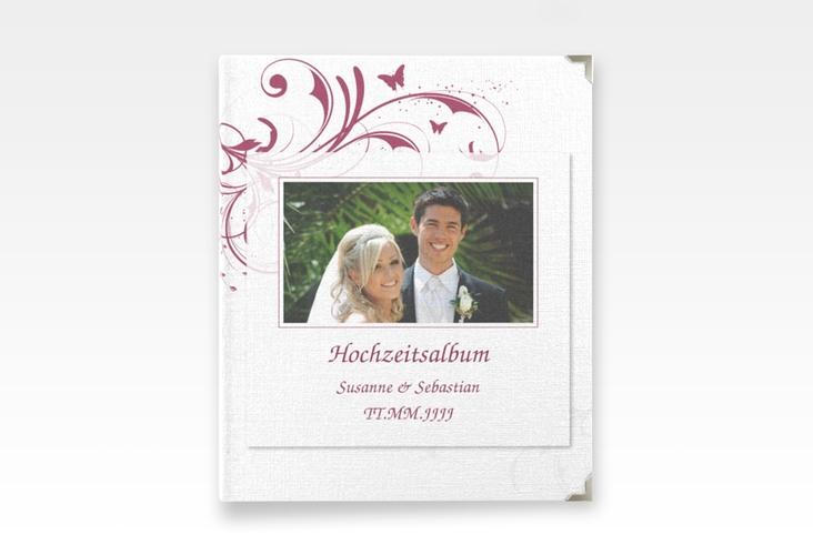 """Hochzeitsalbum """"Palma"""" 21 x 25 cm pink"""