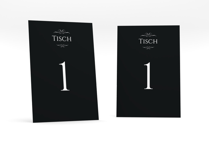 """Tischnummer Hochzeit """"Elegancy"""" Tischaufsteller"""