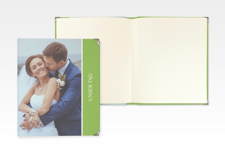 """Hochzeitsalbum """"Classic"""" 21 x 25 cm gruen"""