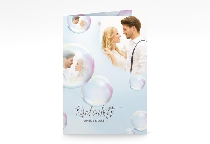 "Kirchenheft Hochzeit ""Dreams"" DIN A5 geklappt"