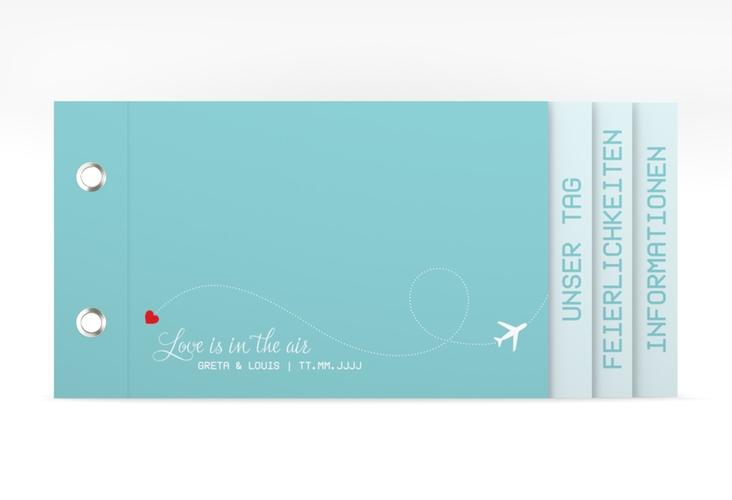"""Hochzeitseinladung """"Weddingpass"""" Booklet"""