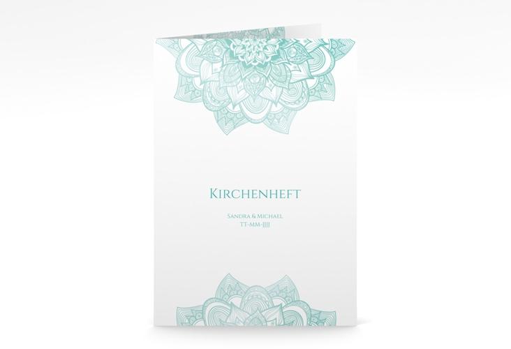 """Kirchenheft Hochzeit """"Delight"""" DIN A5 geklappt mint"""