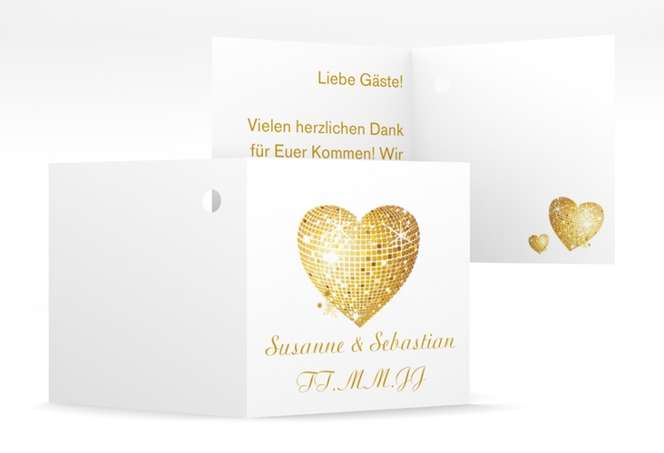 "Geschenkanhänger Hochzeit ""Rimini"" Geschenkanhänger 10er Set"