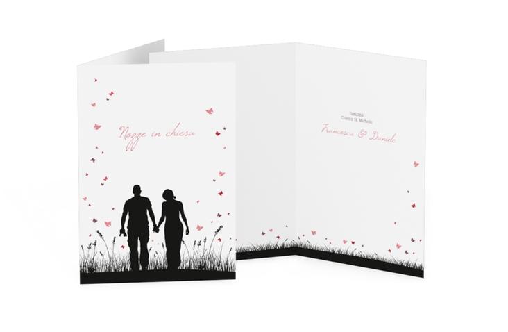 Libro messa matrimonio collezione Rouen DIN A5 geklappt