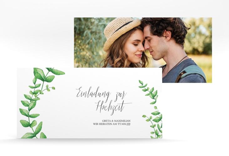 """Hochzeitseinladung """"Botanic"""" Einsteckkarte"""