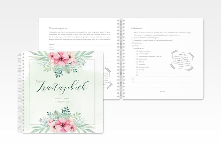 """Trautagebuch Hochzeit """"Surfinia"""" Trautagebuch Hochzeit gruen"""