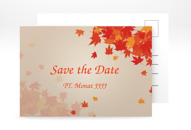 "Save the Date-Postkarte ""Zwiesel"" A6 Postkarte"