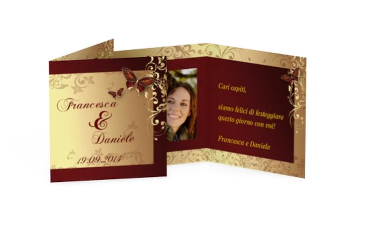 Biglietti Bomboniera matrimonio collezione Tolosa Geschenkanhänger 10er Set