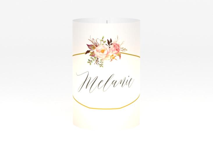 """Windlicht Hochzeit """"Prachtvoll"""" Windlicht weiss"""