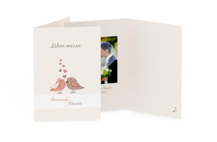 Libro messa matrimonio collezione Venezia DIN A5 geklappt
